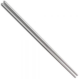 Stainless Steel Chopstick Set (10 Pack)