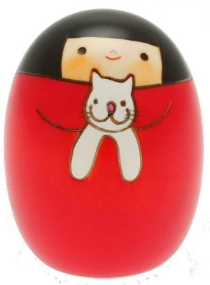 Kokeshi Doll Cat Girl