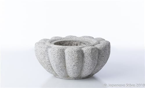 Kiku Granite Stone Water Basin