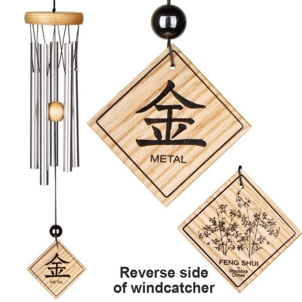 Wind Chime Feng Shui Metal