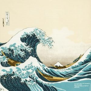 Furoshiki Large Great Wave
