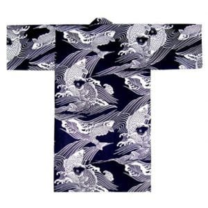 Happi Coat Robe Japanese Koi