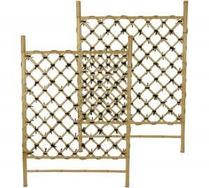 Bamboo Trellis Fence Panels Natural