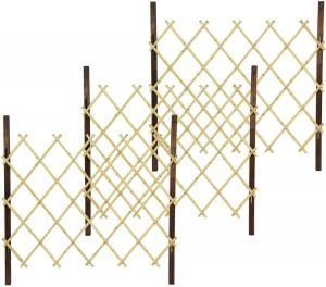 Adjustable Bamboo Natural Fence Panels