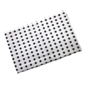 Japanese Tenugui Cloth Black Dots