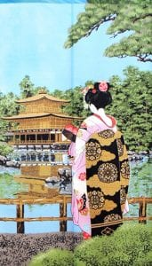 Noren Geisha and Temple