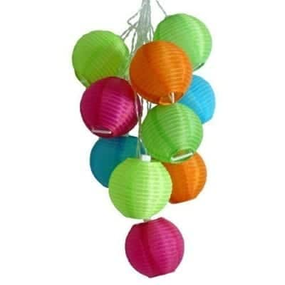 Solar Mini Multicolored Lanterns
