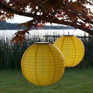 Yellow Lantern Solar Nylon