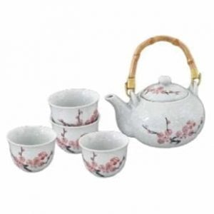 Sakura Snow Tea Set