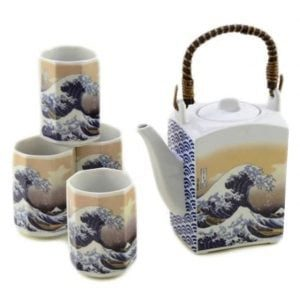 Tea Set Great Wave