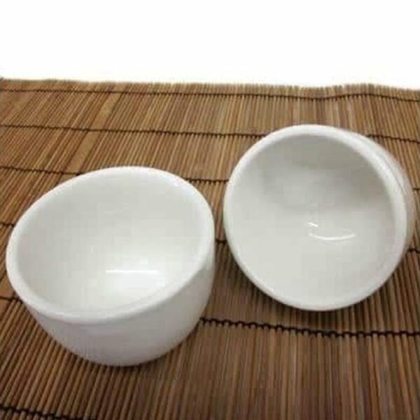Teacup White Porcelain 6 Pack
