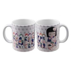 Traditional Kokeshi Mug
