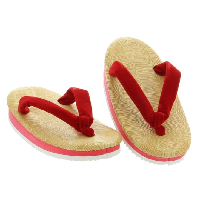 Children's Red Japanese Sandal