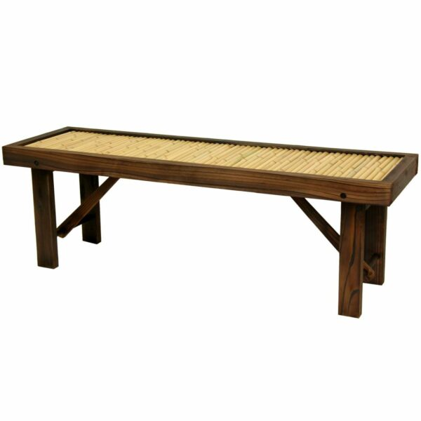 Japanese Bamboo Bench