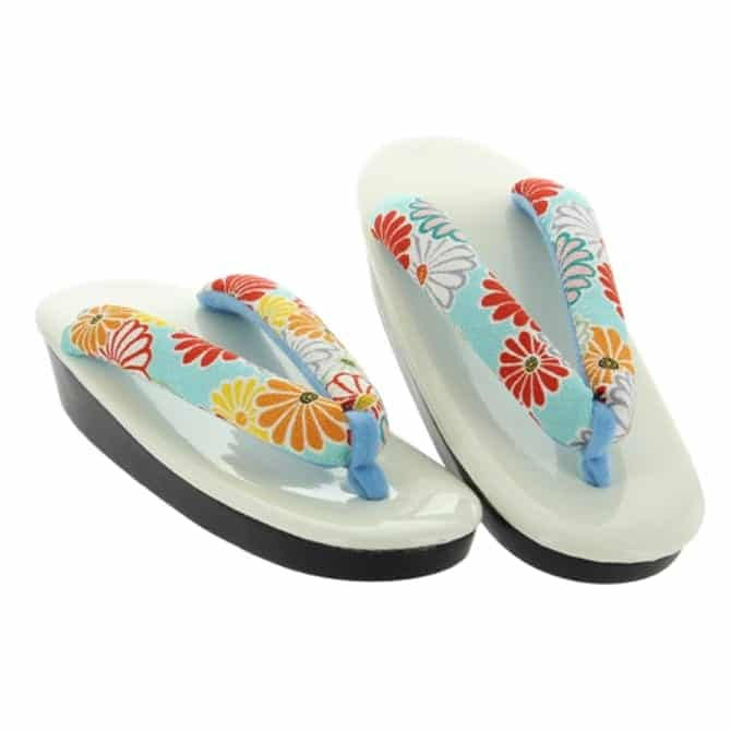 Women's Japanese Teal Sandals